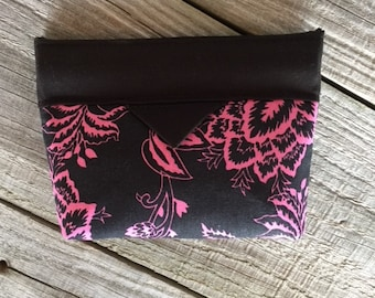 Snap bag, Snap pouch, Coin pouch, Cosmetic pouch, Cosmetic bag, Coin purse, Lipstick Bag
