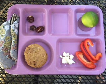 Vintage lunch tray