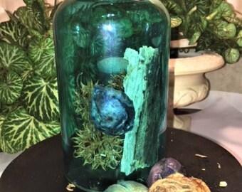Witch Bottle - Memphis Haint TN BLUE BOTTLE Haint