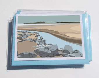 Pack of 6 North East Cards - NE.1