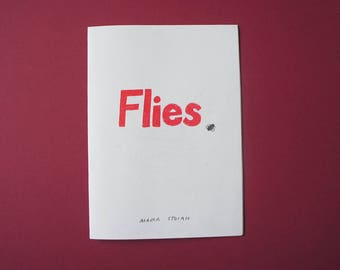 Flies - A6 zine
