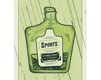 Sports Gig Poster