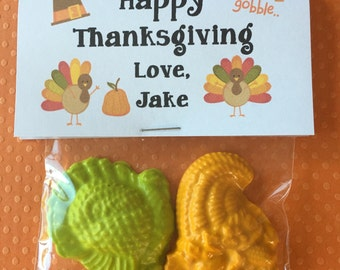 Thanksgiving Crayons happy thanksgiving turkey crayons children thanksgiving place setting