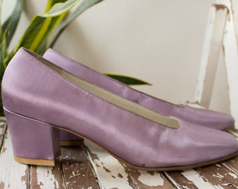 Slingback heel lilac pink 80