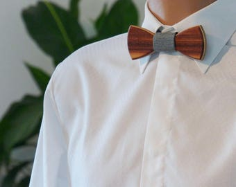 Wooden Bow Tie - Rosewood - Wedding bow tie - Special moments