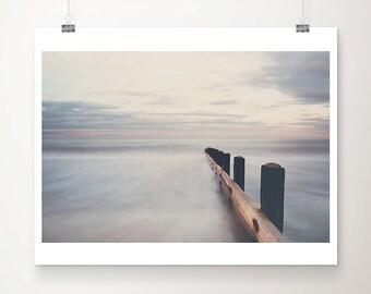 beach photograph ocean photograph sunset photograph beach print ocean print coastal print beach house decor norfolk photograph