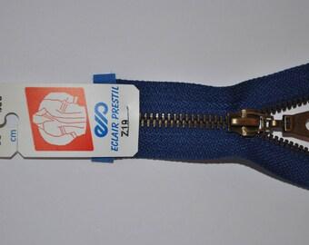 65cm separable Z19 bright blue zipper bugatti 550 mesh metal