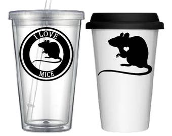 Cup:Mice(4 designs to choose from!)
