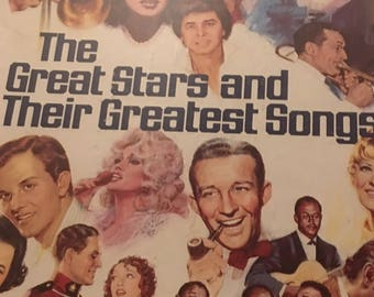 The greatest stars and their greatest hits