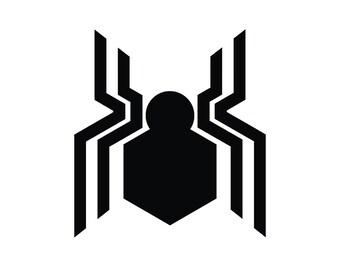 spiderman logo etsy rh etsy com spiderman emblem template spiderman homecoming logo template