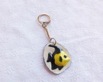 Angel fish  keychain