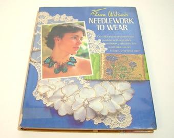 Erica Wilson's Needlework To Wear, Needlework Design Book