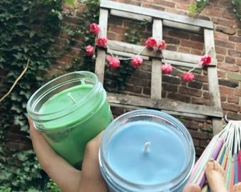 SUN JARS' FAVORITES Homemade Scented Candles