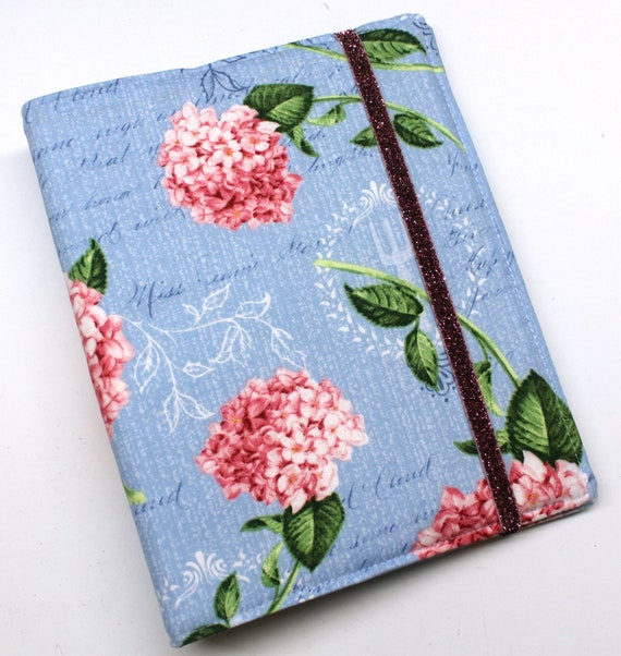 Pink Hydrangeas WIP Tracker Cover and Binder