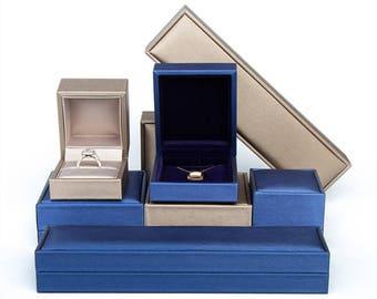 Blue velvet box Etsy