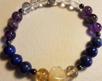 Migraine Custom Healing Crystal Bracelet