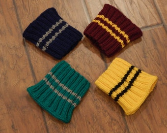 House Sweater Coffee Sleeve : You Choose Your House | Gryffindor, Ravenclaw, Slytherin, Hufflepuff