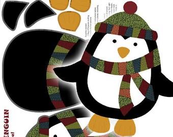 Benartex - Jolly Penguin & Friends 10040-99 Penguin Panel