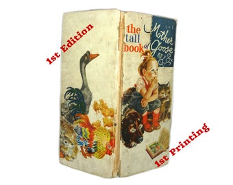 Feodor Rojankovsky The Tall Book of Mother Goose  First Edition Children Books