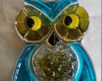 Vintage OWL Napkin Letter Holder