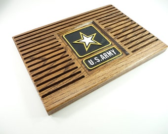 ARMY COIN HOLDER Display  Military Challenge Coins United States Retirement Promotion Gift