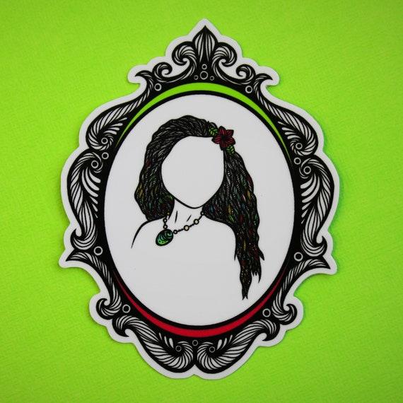 The Heart of Tefiti Sticker