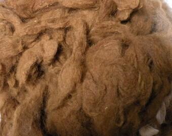 Beautiful Reddish Brown Alpaca Blanket 8 ounces