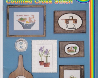 School House of Counted Cross stitch Leaflet Book 7