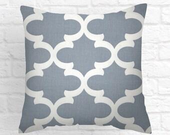 Cashmere Blue ,  Decorative Lumbar Pillows , Decorative Pillow Lumbar