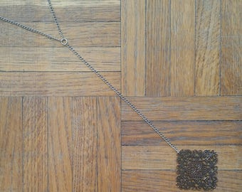 Cooper long necklace