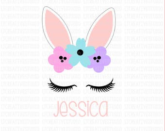 Easter Bunny SVG, Easter SVG, Bunny SVG, Easter Bunny Svg, Easter Cutting files, Silhouette and Cricut Cut Files