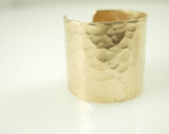 Mini Cuff Ring -14k gold fill or sterling silver Mini Cuff Ring