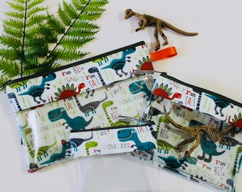 Dinosaurs Vinyl-lined Bags
