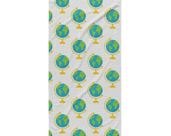 School Beach Towel - Style 3 - Globes
