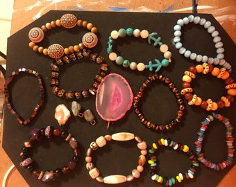 Bracelets and Charms