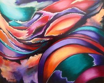 Abstract Art Print, Contemporary Art, Art Print, Modern Art, Wall Decor, Abstract Art, Modern Wall Art, Wall Art, Fine Art Prints