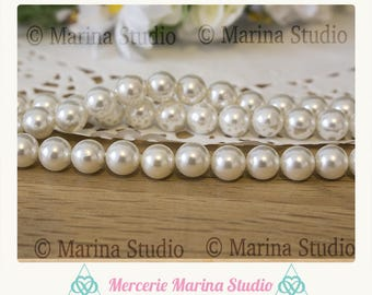 10 cultured pearls 8mm or 6mm perfect for creating road of life bracelet