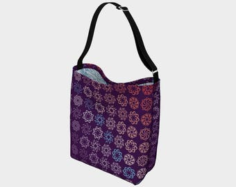 ampersand radials day tote