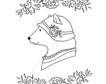 PRINTABLE - Coloring Page