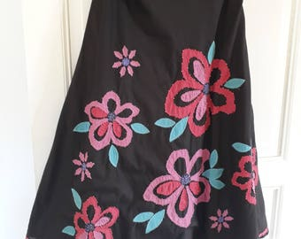 Vintage 1990's Appliqued Boden Skirt