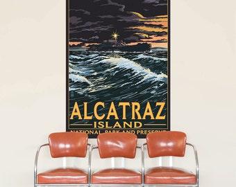 Alcatraz Island Park Preserve Wall Decal - #60857