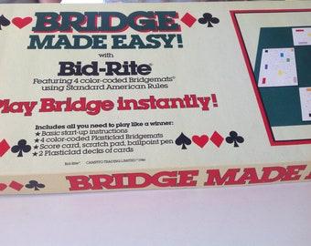 Vintage Bridge made easy with Bid-Rite