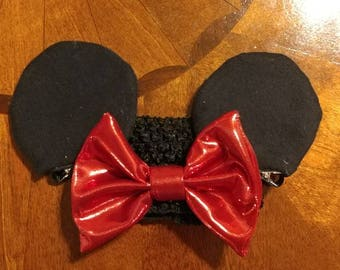 Minnie Mouse Ears for a Baby
