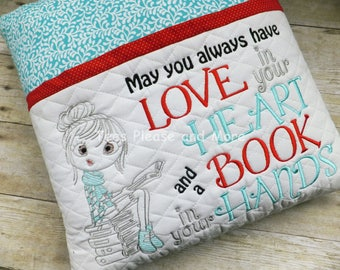 Reading Pillow, May You always have Love
