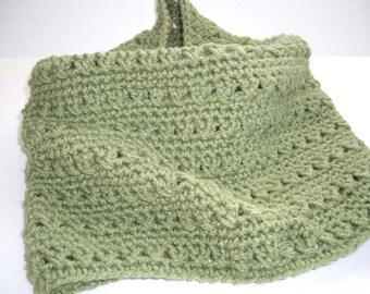 Crochet Cross Stitch Cowl Neck Warmer PDF