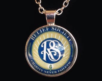 Relief Society Necklace - LDS