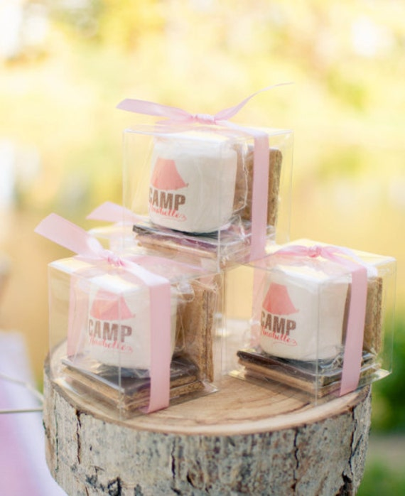 Glamping S'more Party Favors