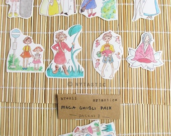 Ghibli Mega (Pack of 8 stickers)