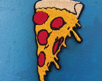 Drippy Pizza Embroidered Patch