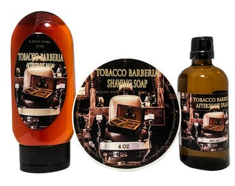 SFWS Tobacco Barberia Shaving Set